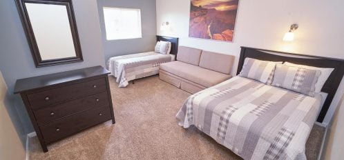 Double and Twin bed-private room