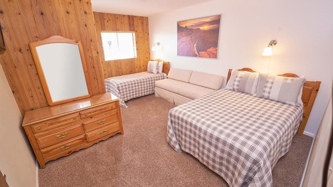 Double and Twin bed- private room